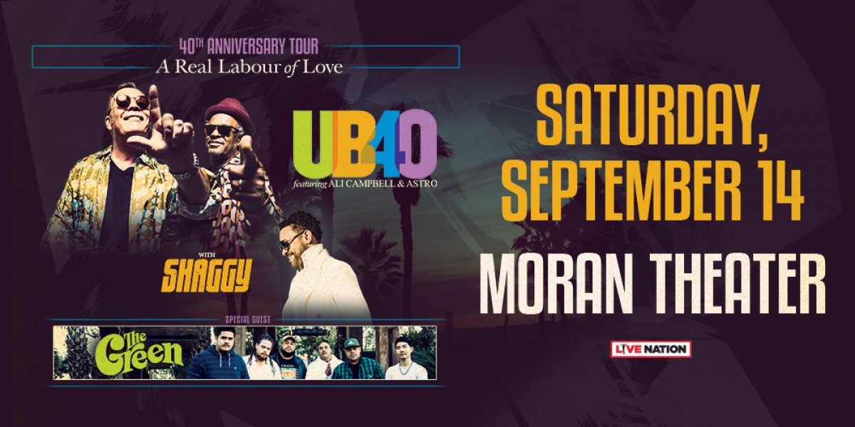 UB40 'A Real Labour of Love' 40th Anniversary Tour | 96 1 WEJZ